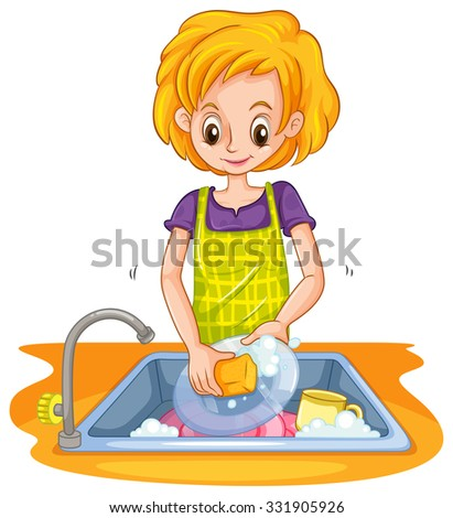 beautiful kitchen faucets sink with bubbles stock vectors amp vector clip 10654