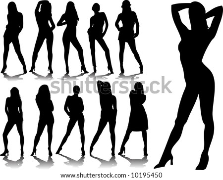 woman silhouettes 5