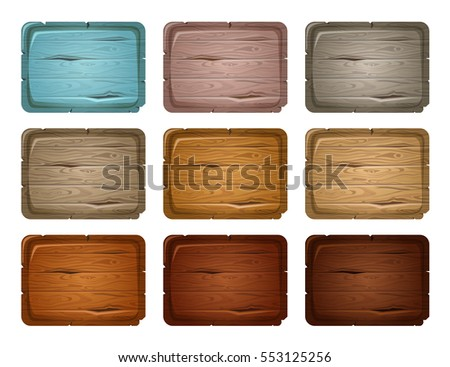 Wood board  for sale,price and discount stickers, banners, badges. Vector illustration.