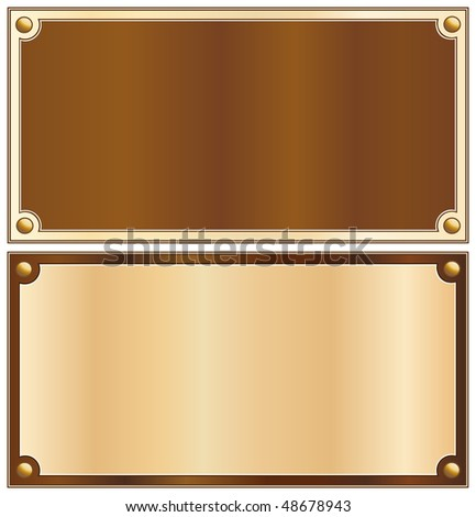 Wood border - stock vector
