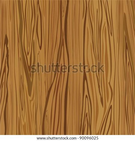 Wood brown background. Vector - stock vector