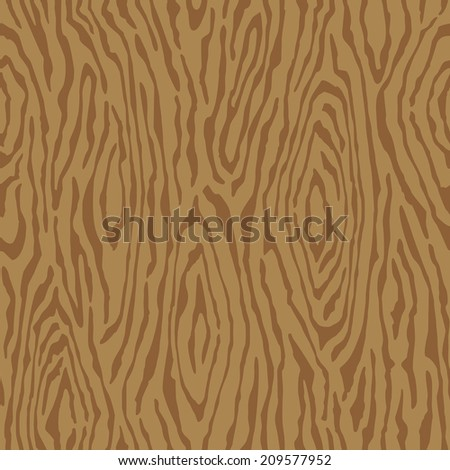 Wood grain pattern repeats seamlessly. - stock vector