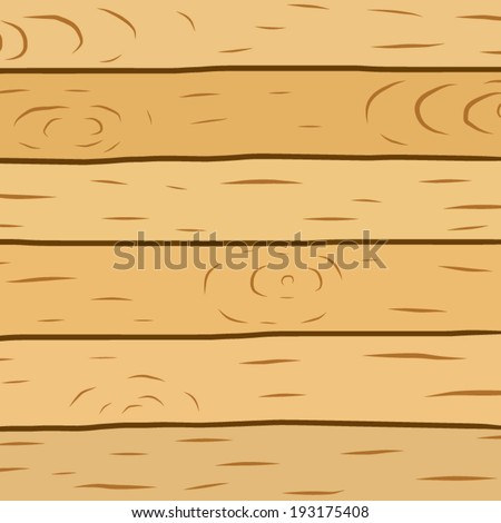 Wood Plank Brown Texture Background Cartoon Vector And Illustration Hand Drawn Style Isolated
