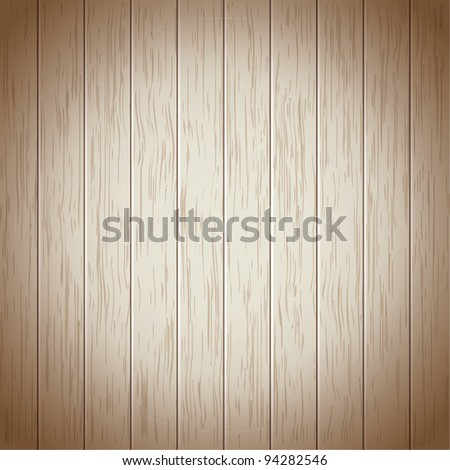 Wood planks texture - stock vector