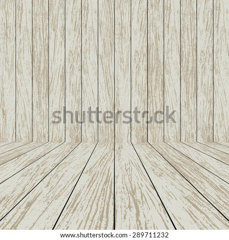 Wood texture background - Vector - stock vector