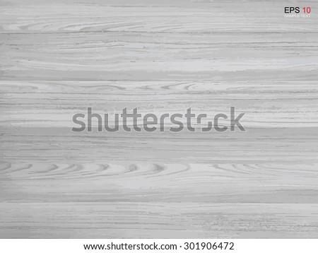 Wood texture background. Vector illustration. - stock vector