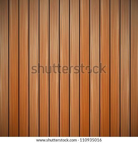 Wood texture empty background - stock vector