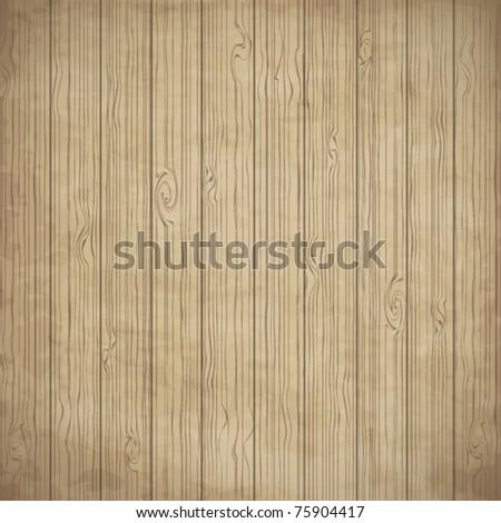 Wood texture, vector - stock vector