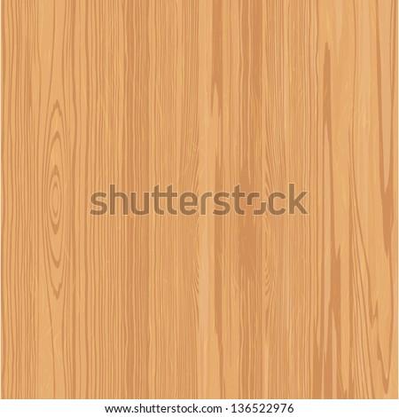 Wood texture vector background - stock vector