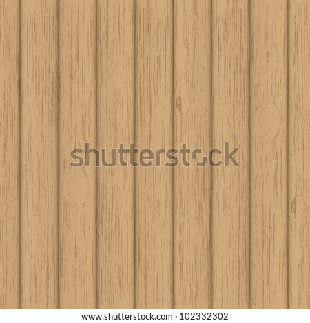 Wood - vector background - stock vector