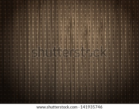 Wooden background. The texture of the tree. Vector. - stock vector