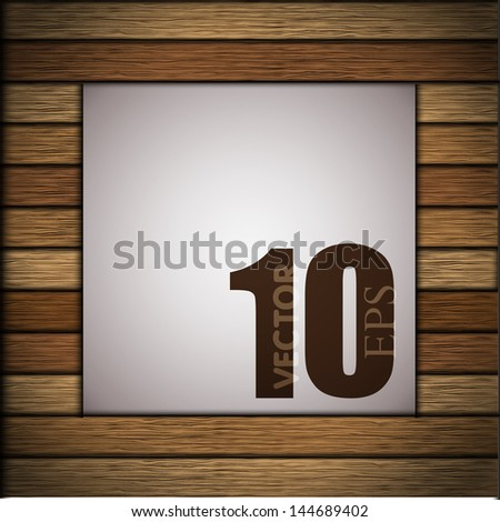 WOODEN BACKGROUND WHITE CANVAS Paintable Texture Stock Vector ...