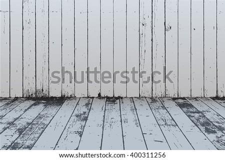 Wooden Overlay Texture - stock vector