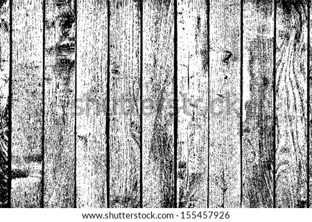 Wooden Planks Background - vertical distressed wooden planks. EPS10 vector. - stock vector