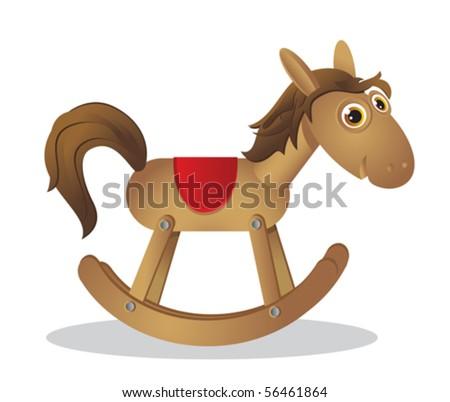 Wooden Rocking Horse   Rocking Chair