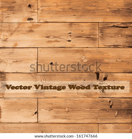 Wooden texture background. vector illustration. - stock vector