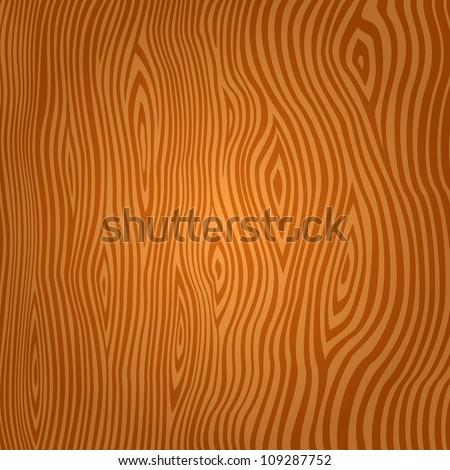 Wooden texture background vector illustration EPS 8 - stock vector