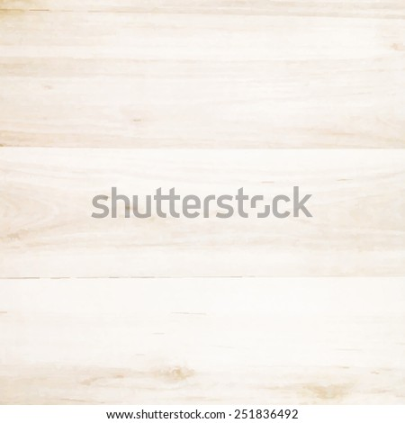 Wooden Texture, Vector Illustration - stock vector