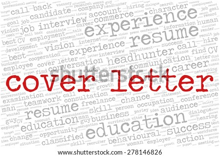 Job Cover Letter Stock Images Royalty Free Images