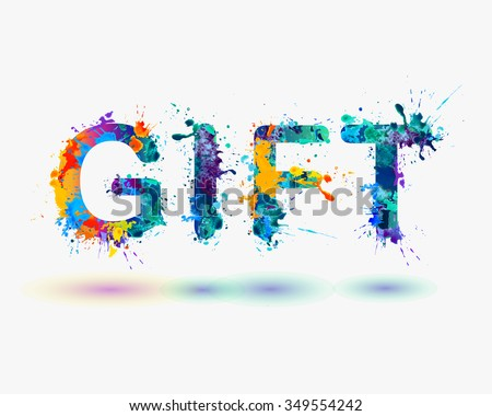 Word gift rainbow splash paint sign stock photo photo vector word gift rainbow splash paint sign negle Image collections