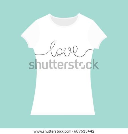 tshirt template set white black color stock vector 691798510 shutterstock. Black Bedroom Furniture Sets. Home Design Ideas