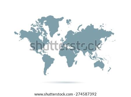 Word Map - stock vector