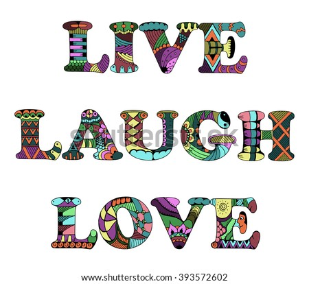 laughter word art - photo #46