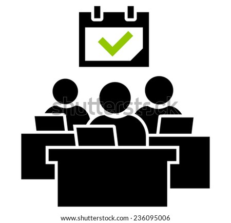 Work successfully done icon - stock vector