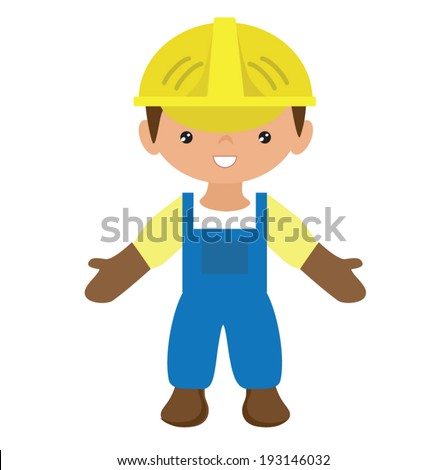 Workman vector illustration