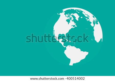 Worl map vector illustration