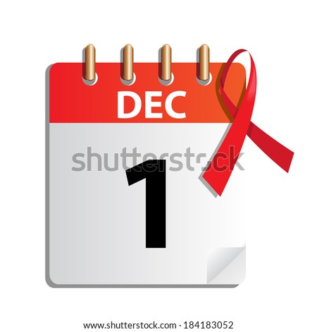 World Aids day , vector illustration  - stock vector
