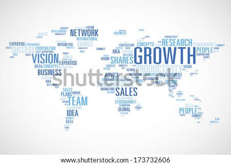 World Business Concepts Vector. - stock vector