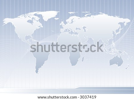 world concept - stock vector