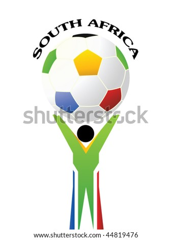 World Cup 2010 - stock vector
