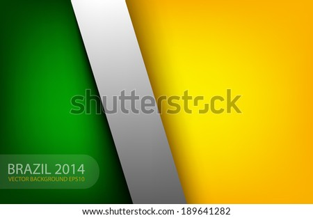 World cup 2014 background for text and message design - stock vector