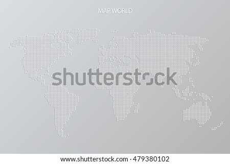 World cup hockey abstract world map stock vector 479380102 world cup of hockey abstract world map vector background grey color sport world league gumiabroncs Gallery