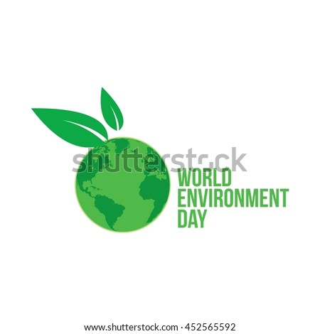 World environment day Design Template. Vector illustration, Good for Card and Banner.