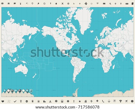 World map of the americas militaryalicious world gumiabroncs Image collections