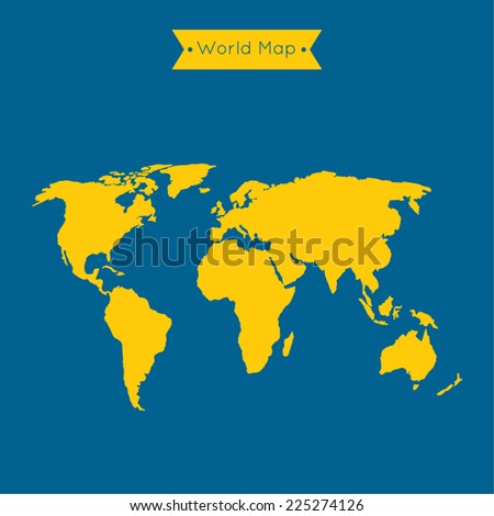 World map software for mobile