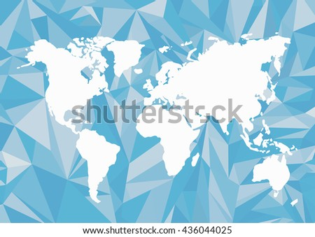 World map background polygonal style creative concept travel global world map background in polygonal styleeative conceptavelobal map of the gumiabroncs Image collections