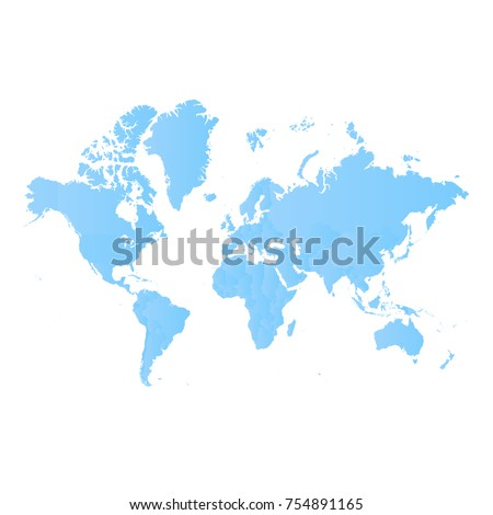 World map blue pastel graphic background stock vector hd royalty world map blue pastel graphic background stock vector hd royalty free 754891165 shutterstock gumiabroncs Gallery