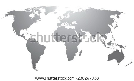 World map countries gray gradient vectores en stock 230267938 world map countries gray gradient gumiabroncs Gallery