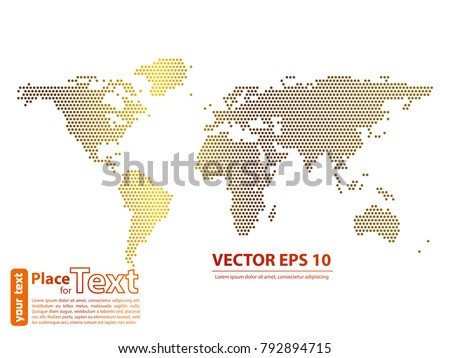 World map dots gold vector illustration stock photo photo vector world map dots gold vector illustration eps 10 publicscrutiny Gallery