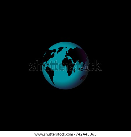 World map globe template easy all stock vector 742445065 shutterstock world map globe template easy all editable gumiabroncs Image collections