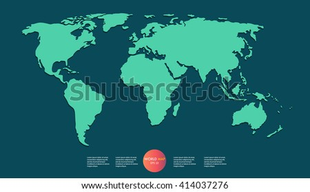 Stock images royalty free images vectors shutterstock world map illustration gumiabroncs Choice Image