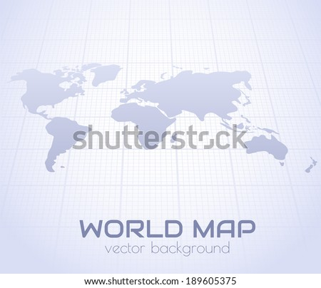 World map perspective background vector eps10 vectores en stock world map in perspective background vector eps10 gumiabroncs Choice Image