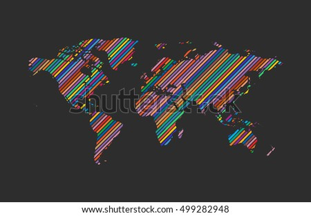 World map logo world logo color stock vector 499282948 shutterstock world map logo world logo color world creative logo travel logo design gumiabroncs Choice Image