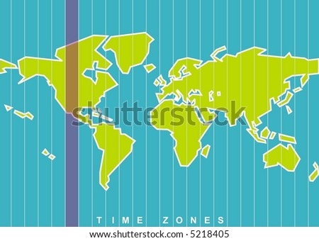 World map time zones vector select stock vector 5218405 shutterstock world map time zones in vector select your time zone gumiabroncs Images