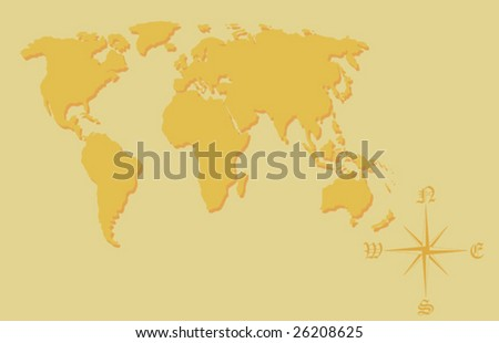 World Map See Similar Please Visit Stock Vector - World map please