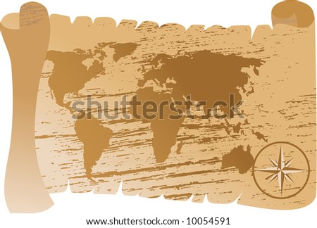 world map vector. traced map http://www.lib.utexas.edu/maps/world_maps/world_pol02.jpg copyright state.: http://www.lib.utexas.edu/maps/faq.html#3.html - stock vector